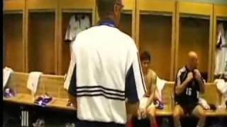 Discours d'avant match et mi-temps finale France Brésil 1998 (les coulisses du sport 3)