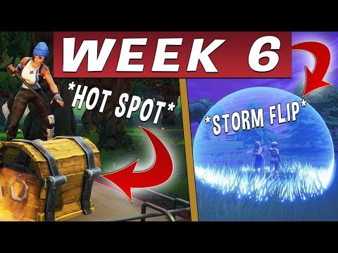 FORTNITE SEASON 9 WEEK 6 CHALLENGEK MAGYARUL (ÚTMUTATÓ)