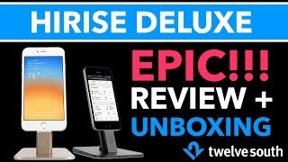Twelve South HiRise Deluxe Review & Unboxing - Best Stand for iPhone/iPad