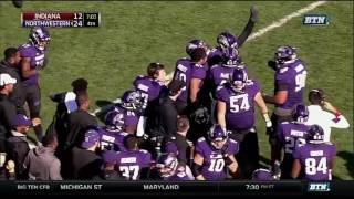 Kyle Queiro One-Handed Interception vs. Indiana