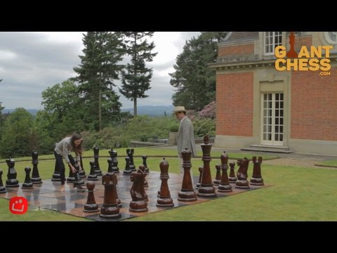 Giant Chess Sets for Outdoor & Indoor Decoration