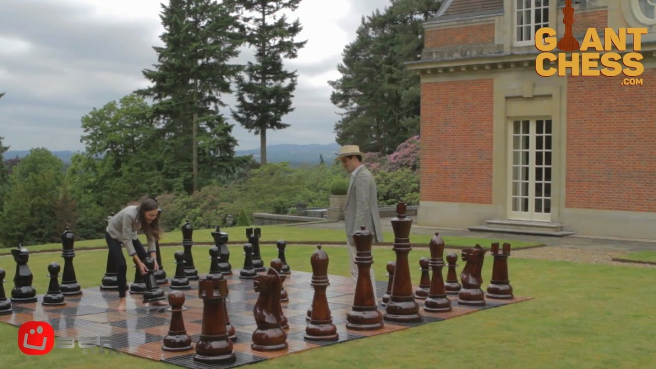 Giant Chess Sets For Outdoor Indoor