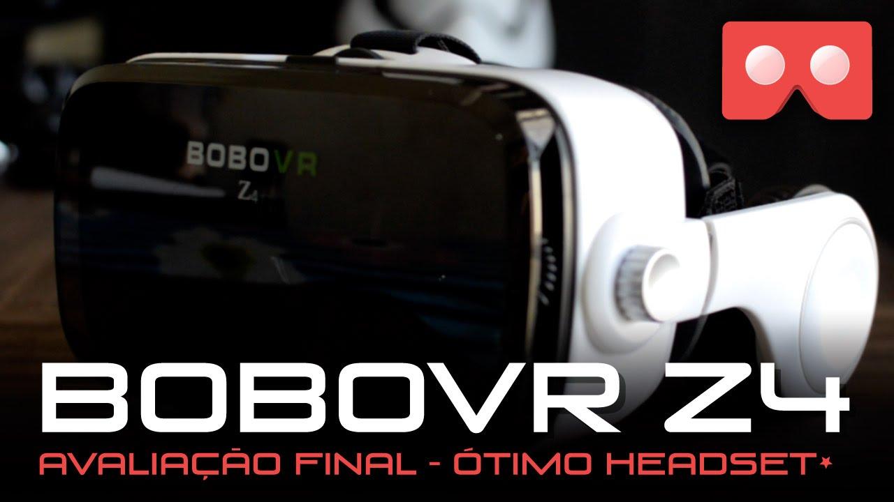 Review BoboVR Z4 - Avaliação Óculos de Realidade Virtual - YouTube c6a5c3ae59