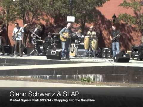 SLAP and Glenn Schwartz,  September 27, 2014. Market Square Park, Cleveland, Ohio