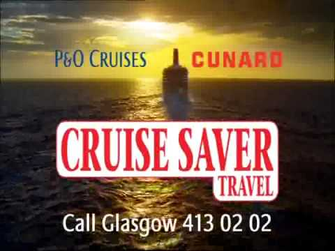Catch your P&O or Cunard cruise at Glasgow or Edinburgh train station with Cruise Saver Travel