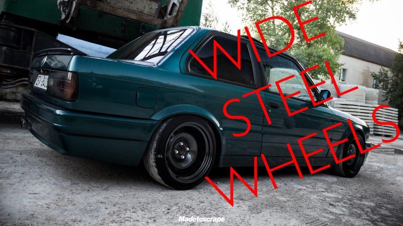 How To Paint Steel Wheels Steelies Sandra Step Youtube