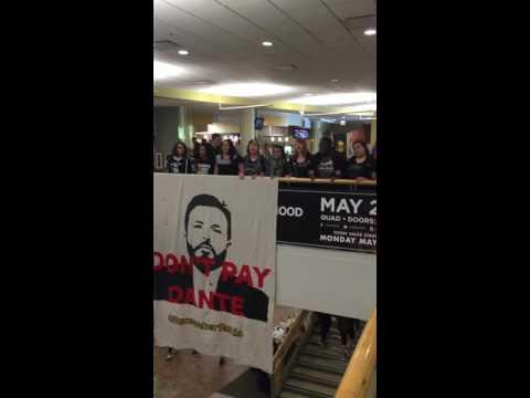 DePaul students demonstrate for Rekia Boyd