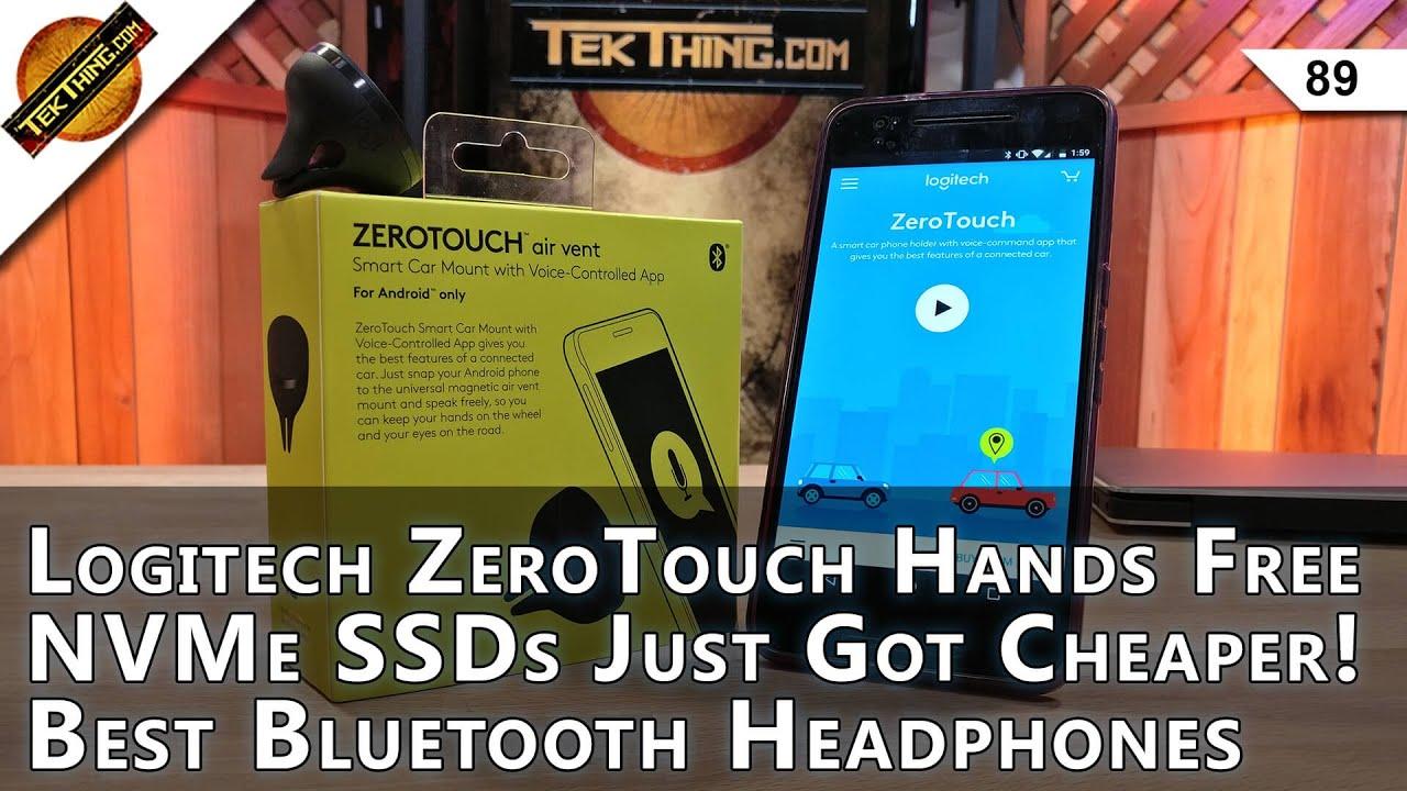 Best Wireless Headphones, Logitech ZeroTouch Review, Intel 600p NVMe SSD,  Windows 10 VM VirtualBox!