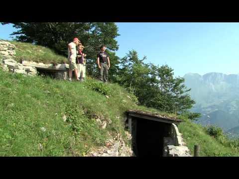 The First world war outdoor museum Kolovrat (GB version) HD