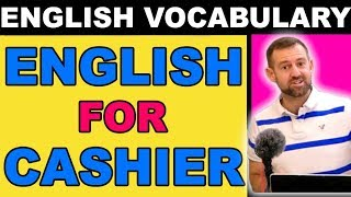 ENGLISH for CASHIERS