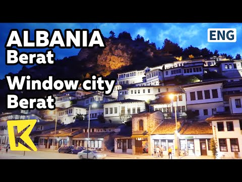 【K】Albania Travel-Berat[알바니아 여행-베라트]천개의 창문을 가진 베라트/Window/Unesco/Muslim/Berat Castle/Night view