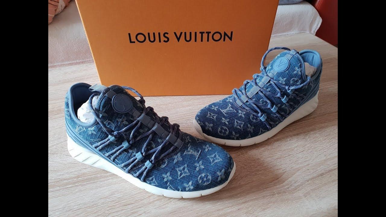 fe6ed091148 Louis Vuitton Monogram Fastlane Sneaker REVIEW 4K