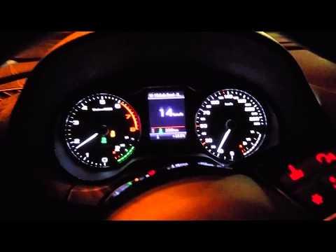 Audi A3 g-tron Test Acceleration 0-100 Km/h