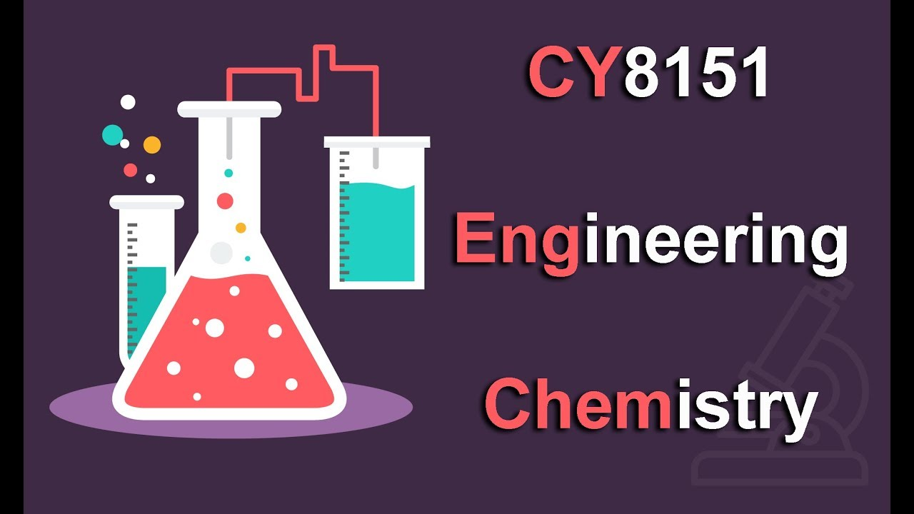 CY8151 Notes Engineering Chemistry Regulation 2017 Anna University