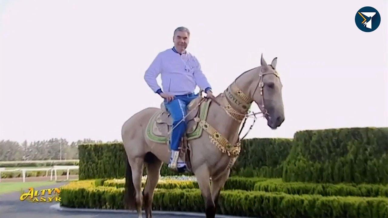 Пока мир борется с коронавирусом, в Туркменистане отмечают день коня