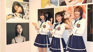 NMB48・東由樹が監修した写真展が開幕。「いつか全員撮影して本にしたい」と目標掲げる.