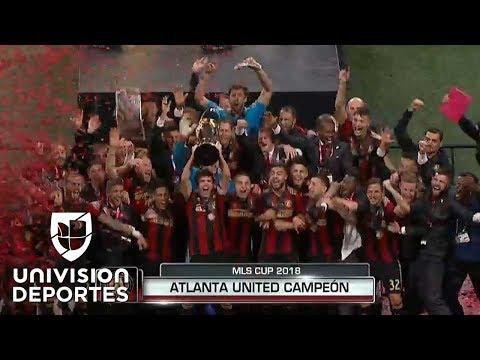 Con estos dos goles, el Atlanta United se coronó en la MLS Cup