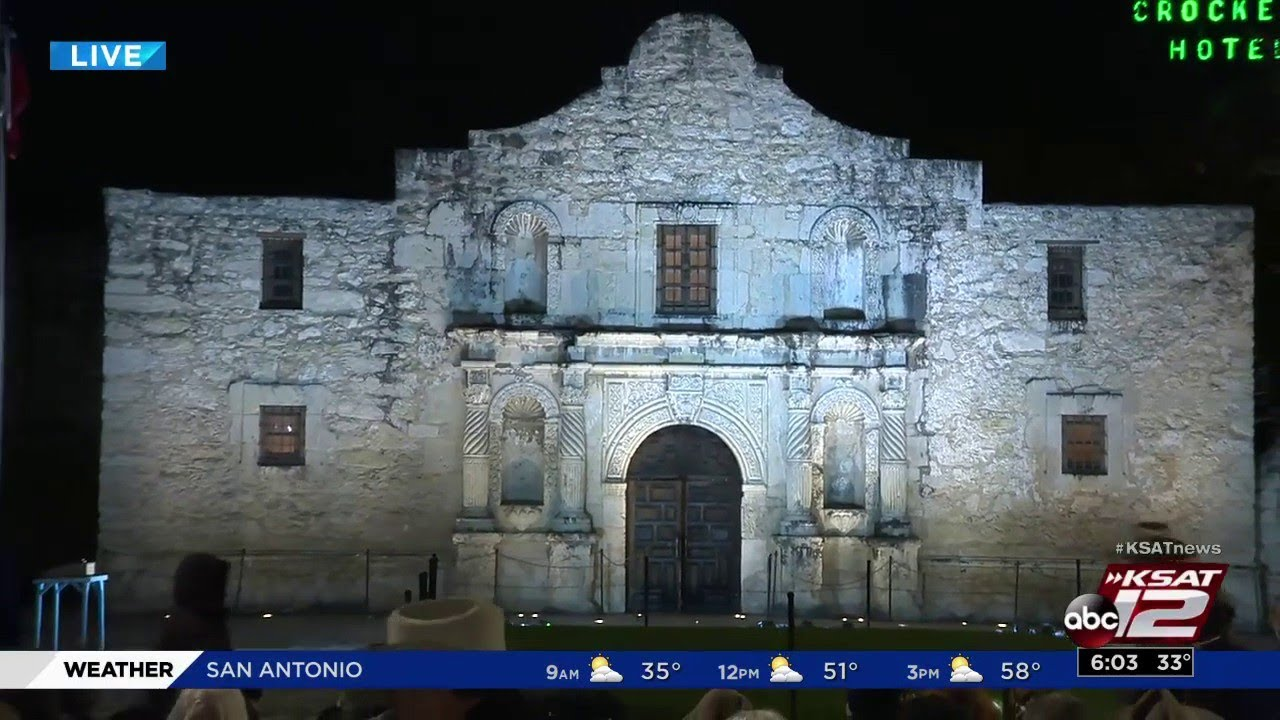 Download Dawn at the Alamo commemorates fall of Alamo 183 years later