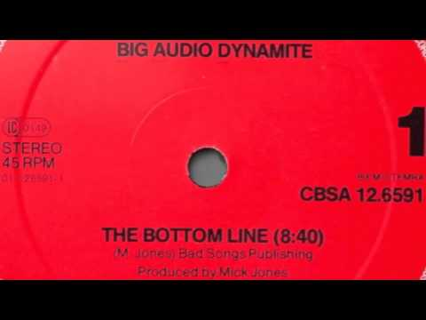 Big Audio Dynamite Bottom Line (Original UK 12