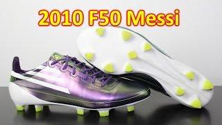 Adidas F50 adiZero Messi Chameleon Purple 2010 - Retro Review