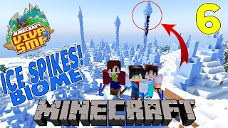 BIOME ICE SPIKES With Stresmen & Ranelsi Sumarta - Minecraft Indonesia : Viva SMP #6