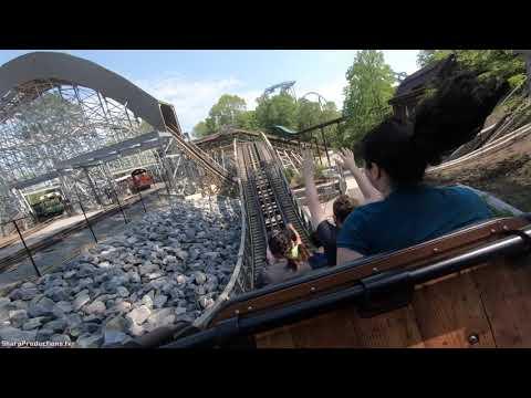 InvadR (4K On-Ride Back) Busch Gardens Williamsburg