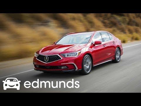 2018 Acura RLX Sport Hybrid | Test Drive | Edmunds