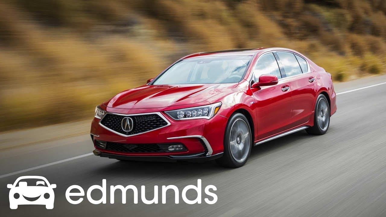 2018 Acura Rlx Sport Hybrid Test Drive Edmunds