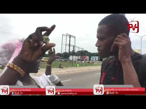 LIVE INTERVIEW WITH A MAD WOMAN IN ACCRA