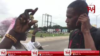 Mix - LIVE INTERVIEW WITH A MAD WOMAN IN ACCRA