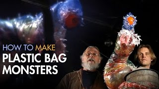 How to Make a Hand Puppet - Plastic Bag Monster - PREVIEW