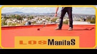 Cómo pintar de caucho una terraza con goteras