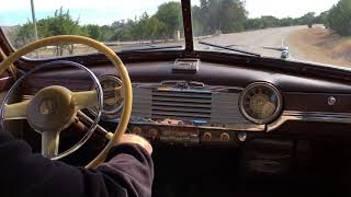 Crusin' a 1948 Chevrolet Fleetmaster