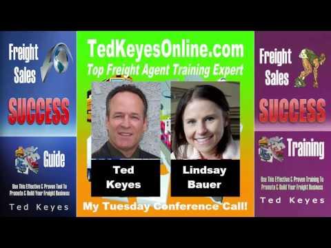 [TKO] ♦ Freight Sales Expert Guest - Lindsay Bauer ♦ TedKeyesOnline.com