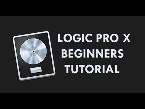 Logic Pro X Beginners Tutorial - An Introduction to Music Production in Logic Pro X