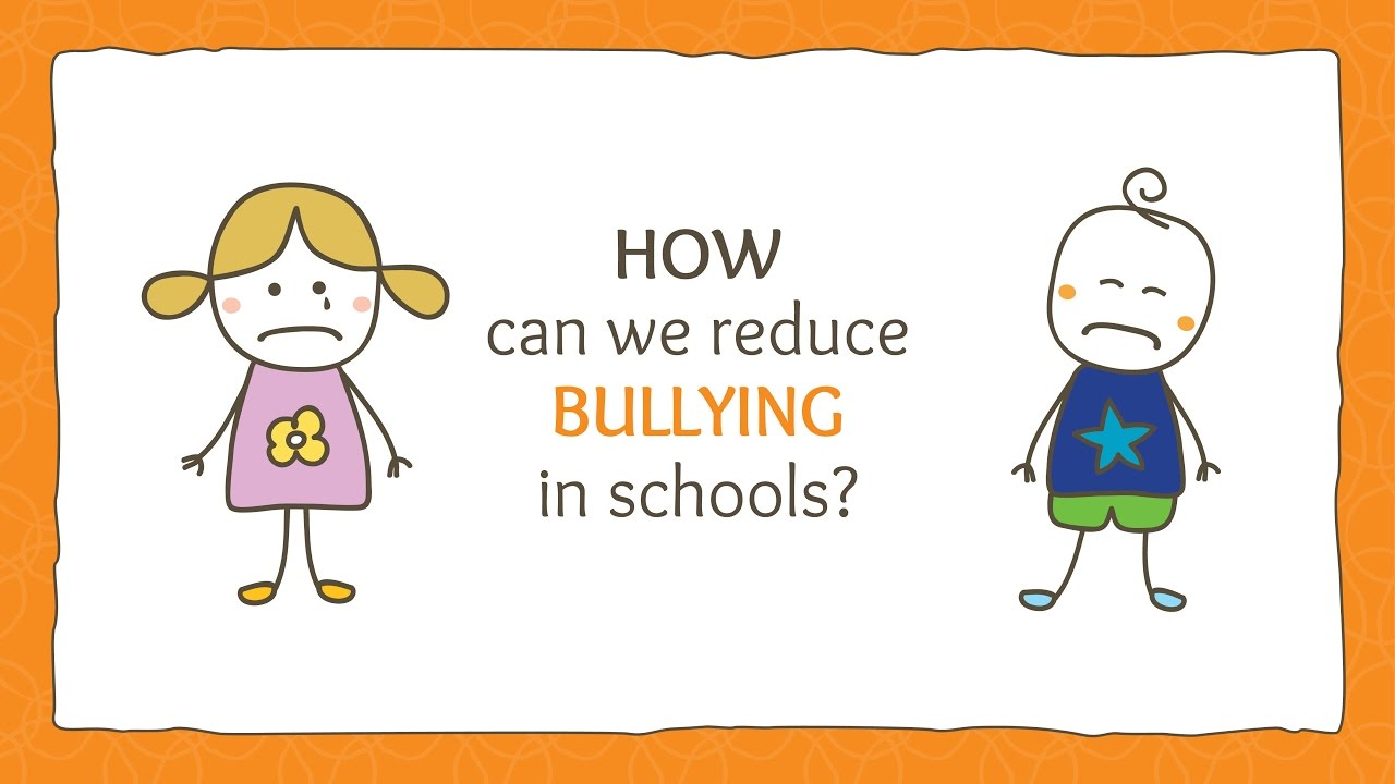 ways to reduce bullying in schools Plans for action to reduce problems of bullying and victimization and to promote healthy relationships for children, their families, schools, and communities finally, the policy section is.