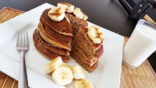 Banana Oats Pancakes| Quick, Easy 'n Healthy Breakfast Recipe