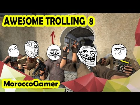 AWESOME TROLLING Episode  8 ! morocco gamer