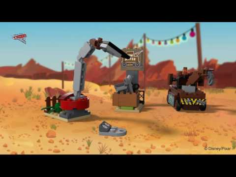 Mater's Junkyardard - LEGO Juniors Cars - 10733