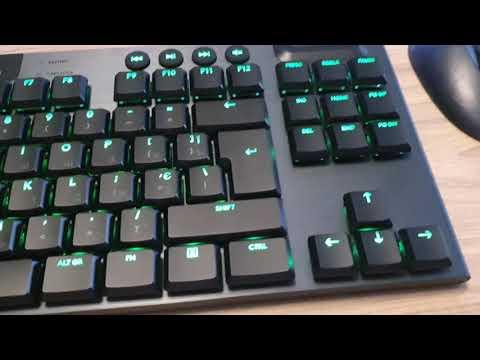 Клавіатура бездротова Logitech G915 Gaming TKL LIGHTSPEED Wireless RGB Mechanical White (920-009664)