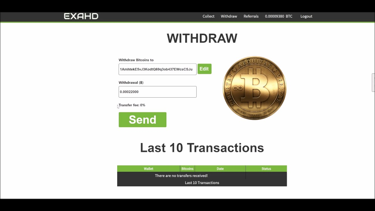 Best Bitcoin Faucet - Win 500 satoshi / hour - SCAM