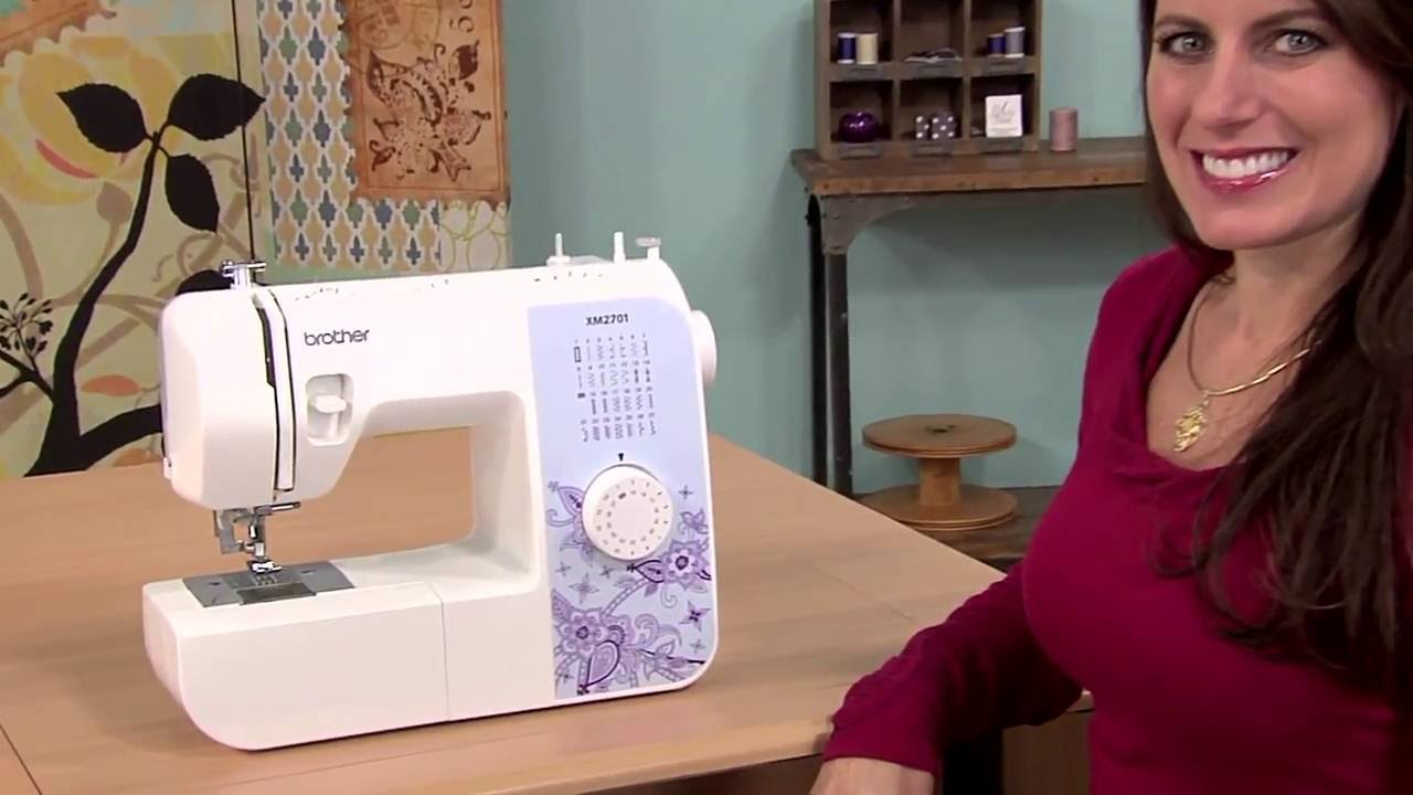 The Brother XM2701 Sewing Machine Overview | Perfect for ...