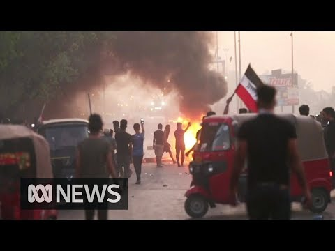 Iraq protests: Death toll from anti-government unrest nears 100   ABC News