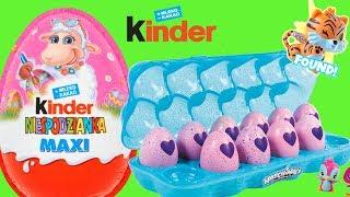 Hachimals mini & Kinder Maxi Niespodzianka • zabawki niespodzianki • openbox