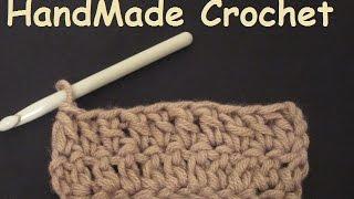 كروشيه شرح غرزة العمود بلفة # HandMade Crochet