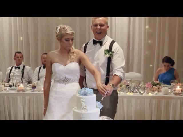 Our Wedding Mc Dj Cake Cutting Toast 27 2 16 Youtube
