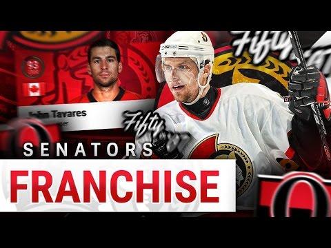 """NHL 17: Ottawa Senators Legend Franchise Mode #5 """"Trades"""""""