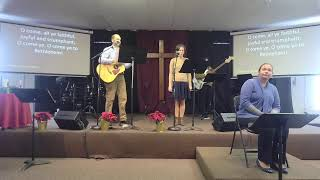 December 27th Worship Service