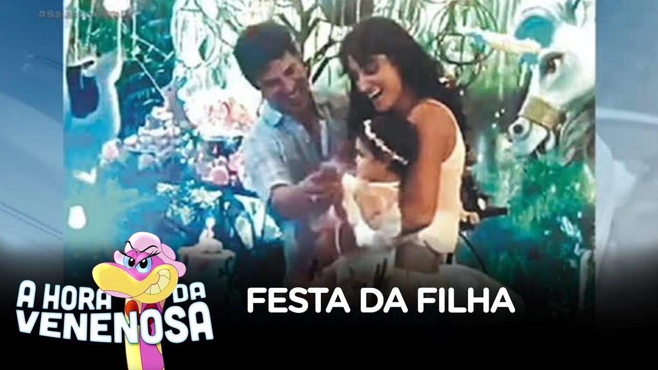 Débora Nascimento e José Loreto mudam festa da filha para despistar imprensa