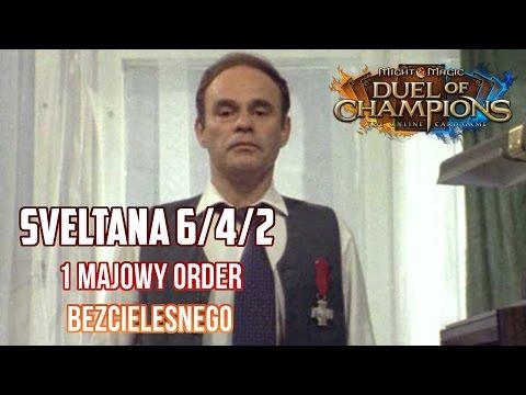Might & Magic Duel of Champions - Sveltana 6/4/2 std - 1 majowy Order Bezcielesnego